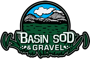 Basin Sod and Gravel Logo